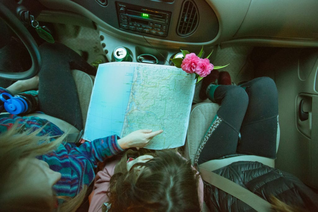 Route planning for an Oregon road trip