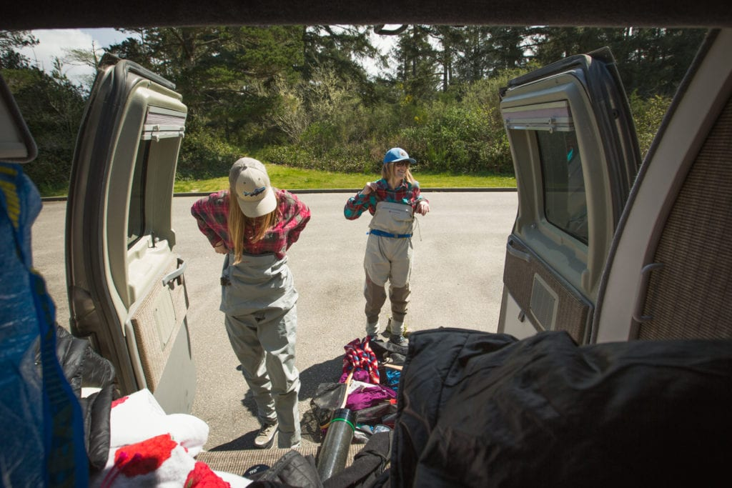 Roving Dears gearing up to go fishing