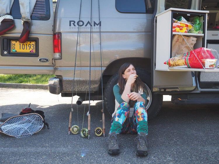 Restful Afternoon in a ROAMERICA campervan