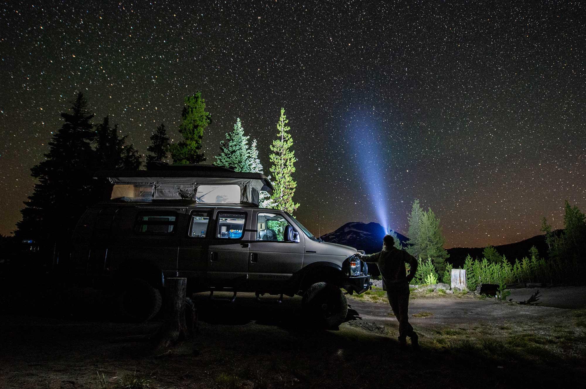 4x4 campervan rentals in Oregon