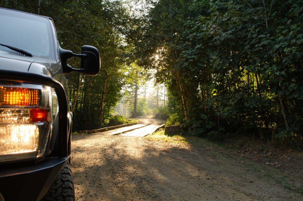 Morning on the Road - ROAMERICA