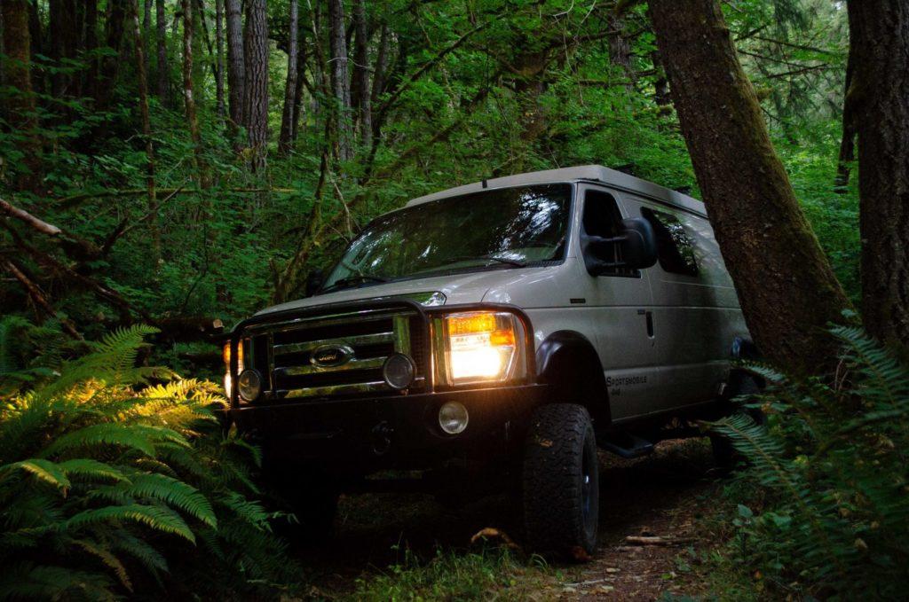 Off-Roading in a ROAMERICA Campervan