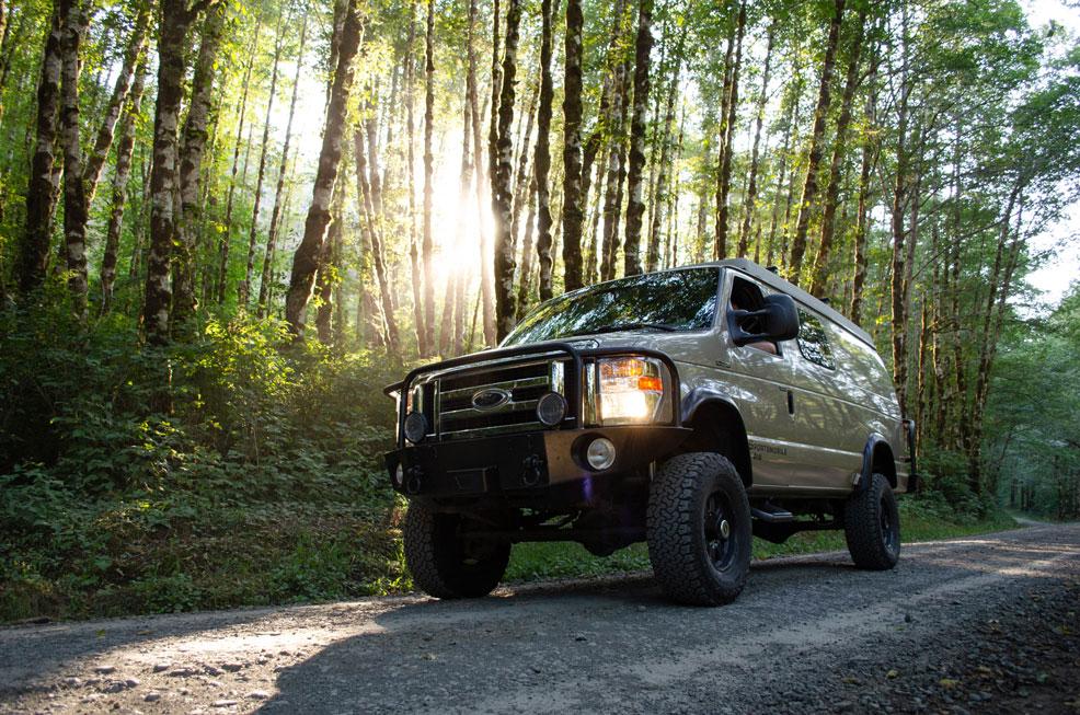 Oregon Forest Road Trip - ROAMERICA Sportsmobile Campervan