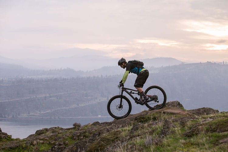 Mountain biking in the Columbia Gorge
