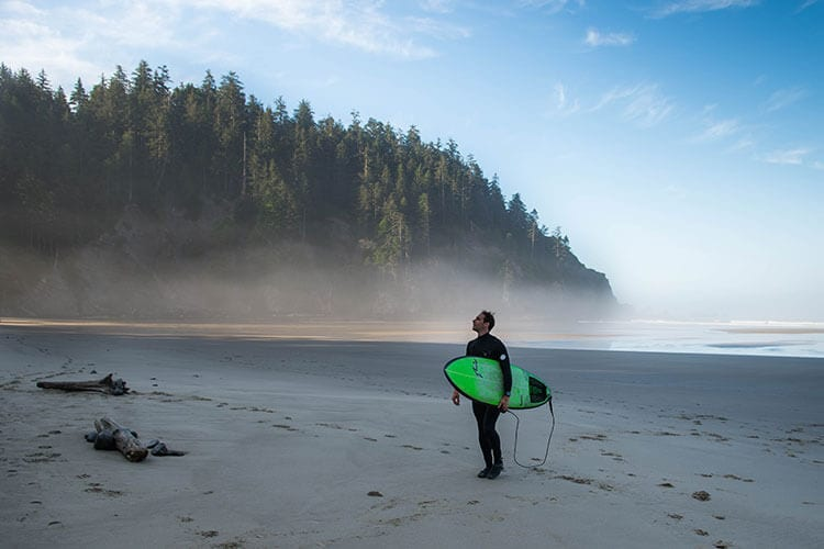 Oregon Coast - Surfing - Steve Dircks