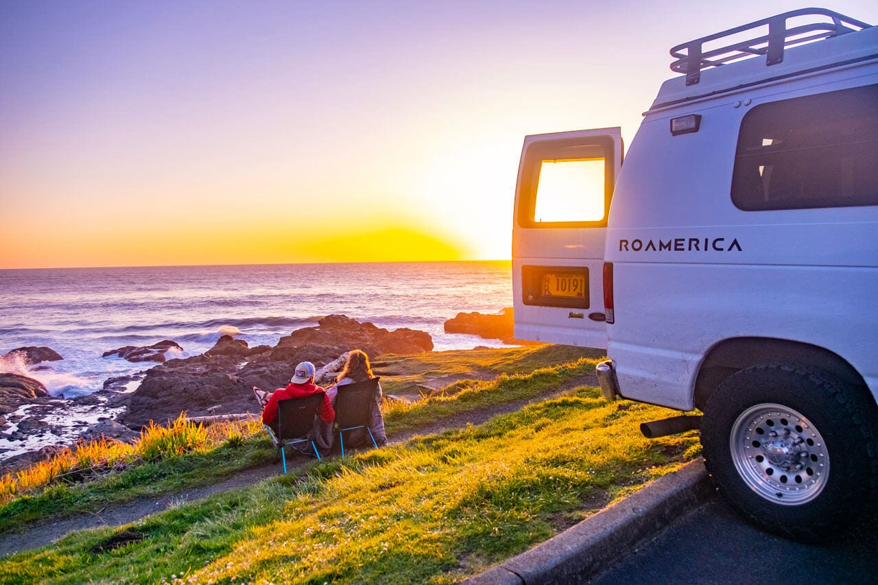 Pacific Northwest Vanlife Road Trip - ROAMERICA Campervans