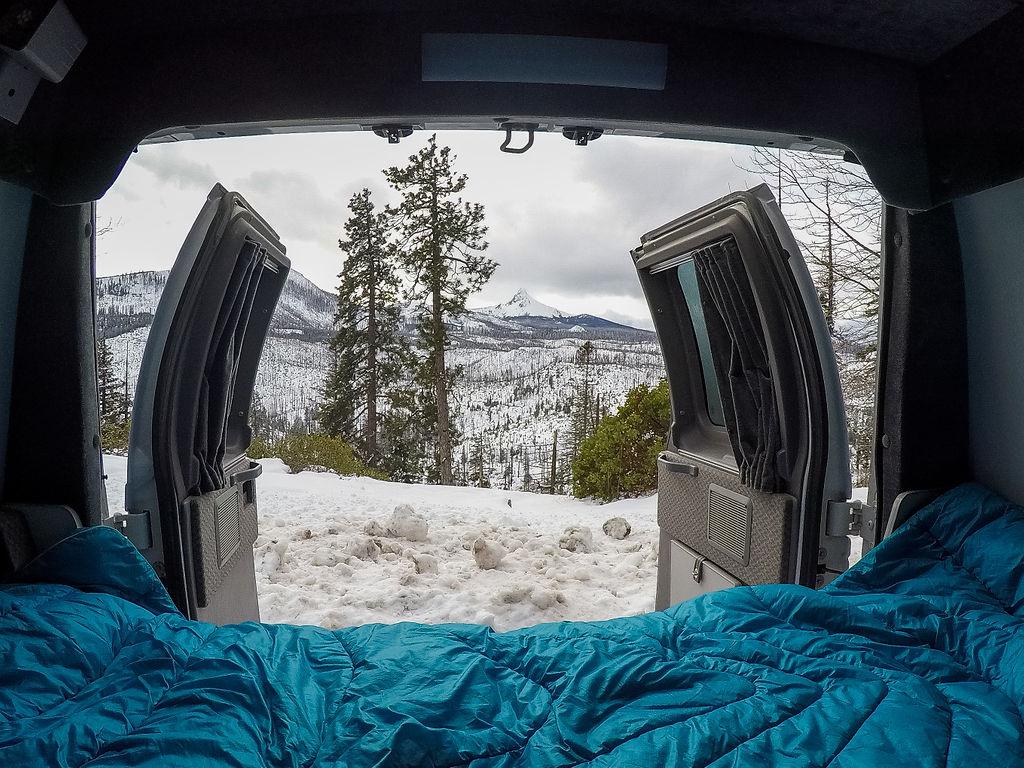 Winter Morning - ROAMERICA Campervan