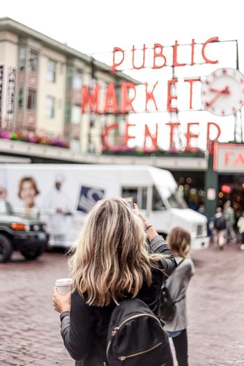 Pikes Place Market - Seattle Washington