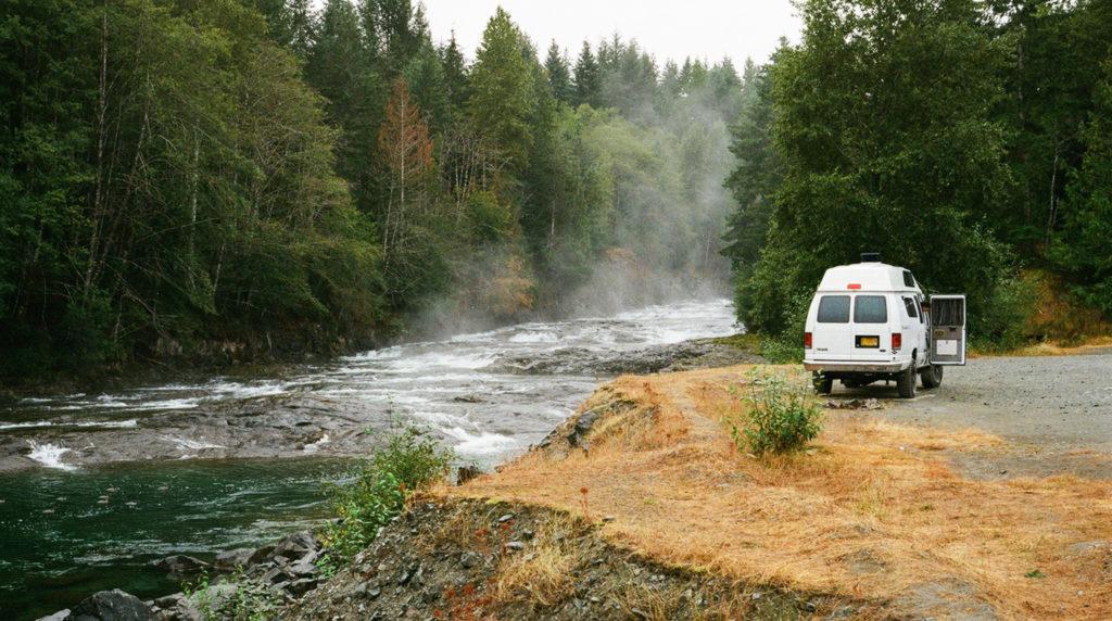 Free Campsite - Vancouver Island