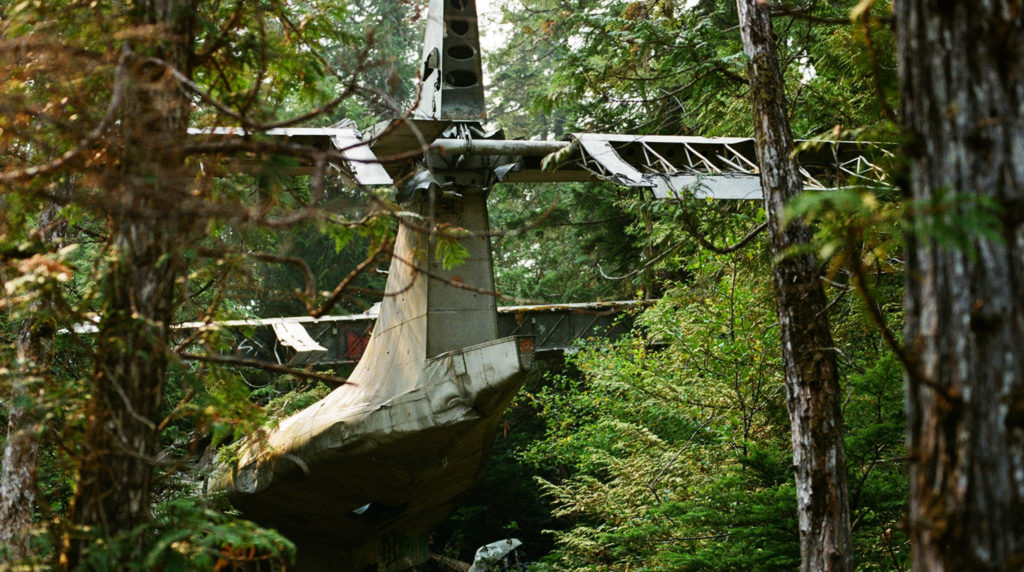 Plane crash Site - British Columbia, Canada