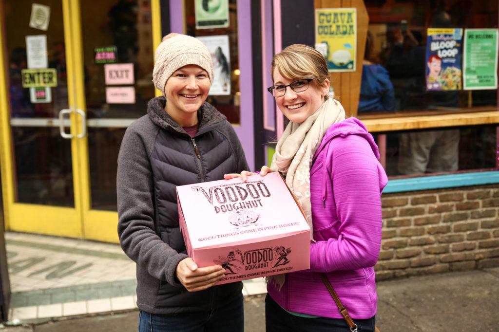 Voodoo Doughnuts in Portland, Oregon