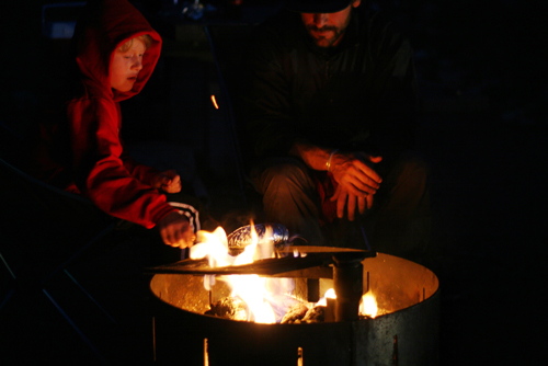 How to Van Life with Your Family - Campfire Cooking