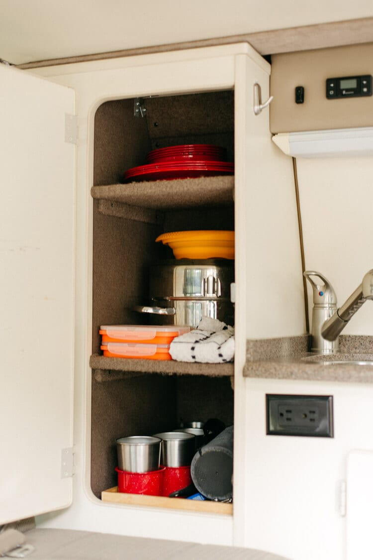 camper van kitchen conversion