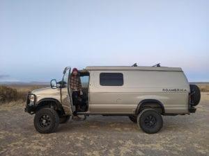 Sportsmobile road trip through Oregon ghost towns