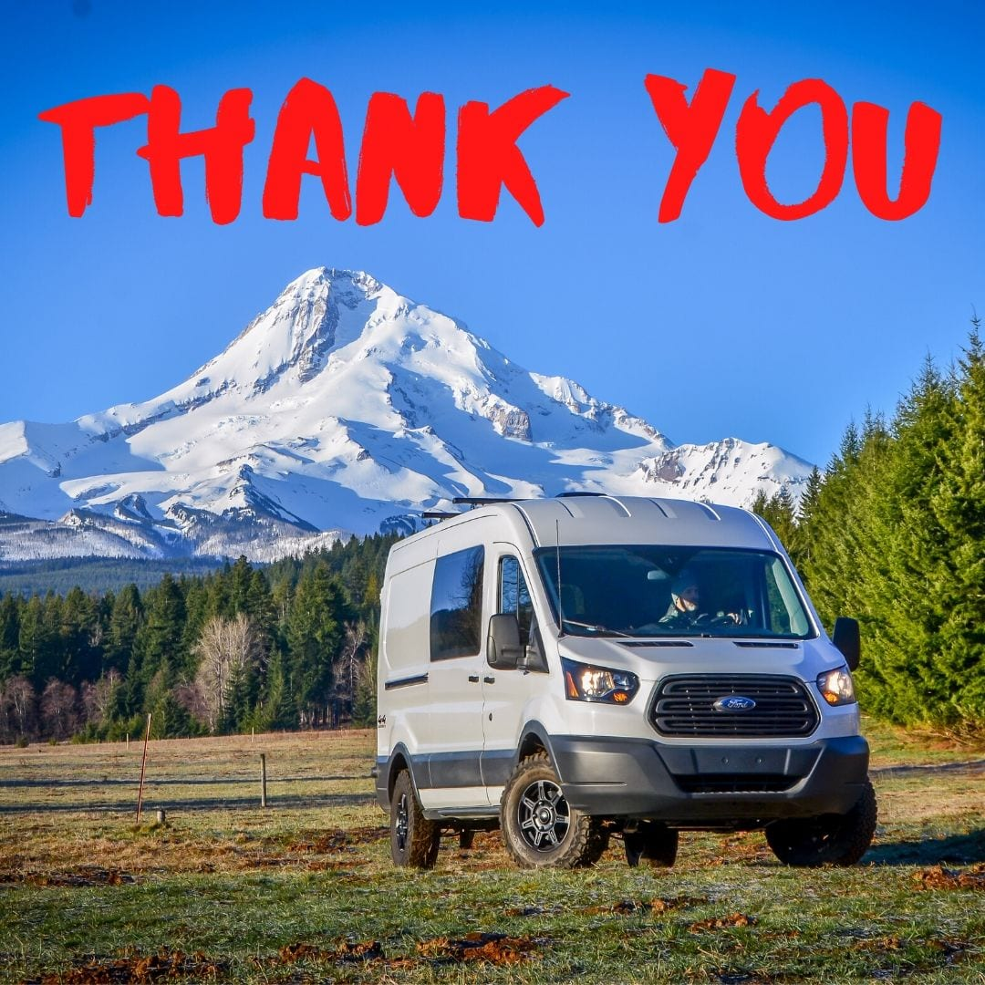 Free camper van trip for those affected by Covid-19 in Portland, Oregon