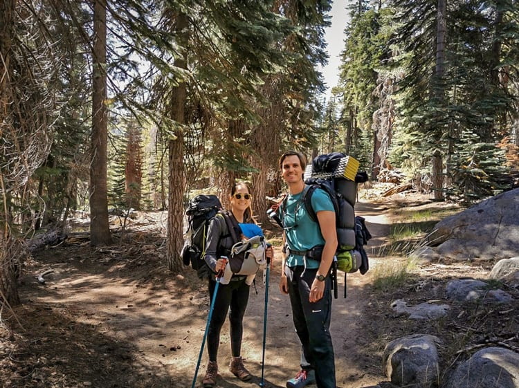 Road trip itinerary of Oregon and Washing, hiking along the way with a baby