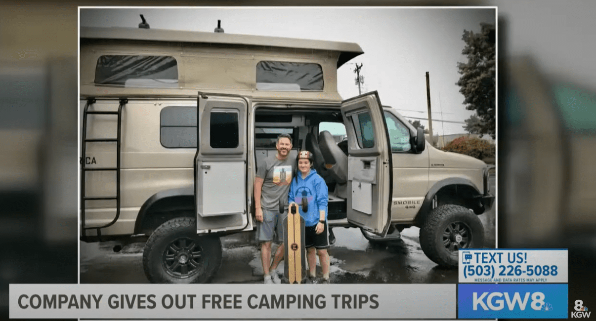 free campervan trips for those affected by covid