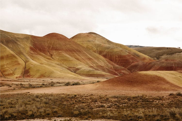 Painted Hills is part of the 7 Wonders of Oregon