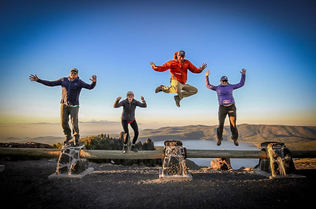 Jump for joy with a camper van rental experience!