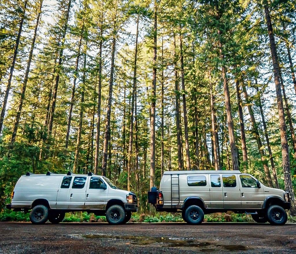 4x4 Sportsmobile Adventure camper vans are here!