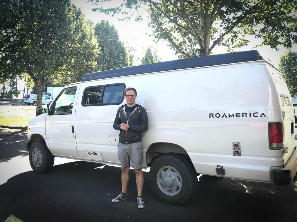 Ford Camper van Oregon road trip here I come!