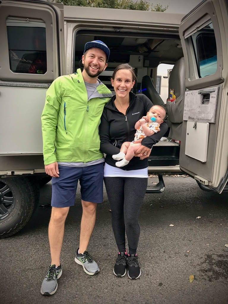 Camper van trip with babies is easy!