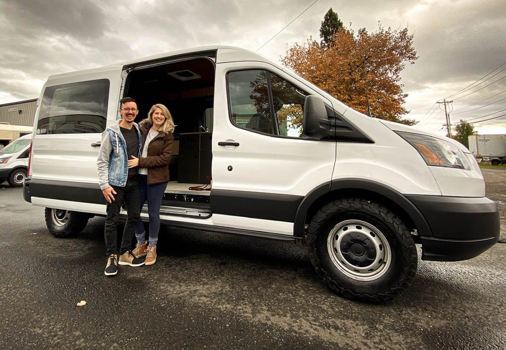 Ford Transit Camper van conversion for Portland peps!