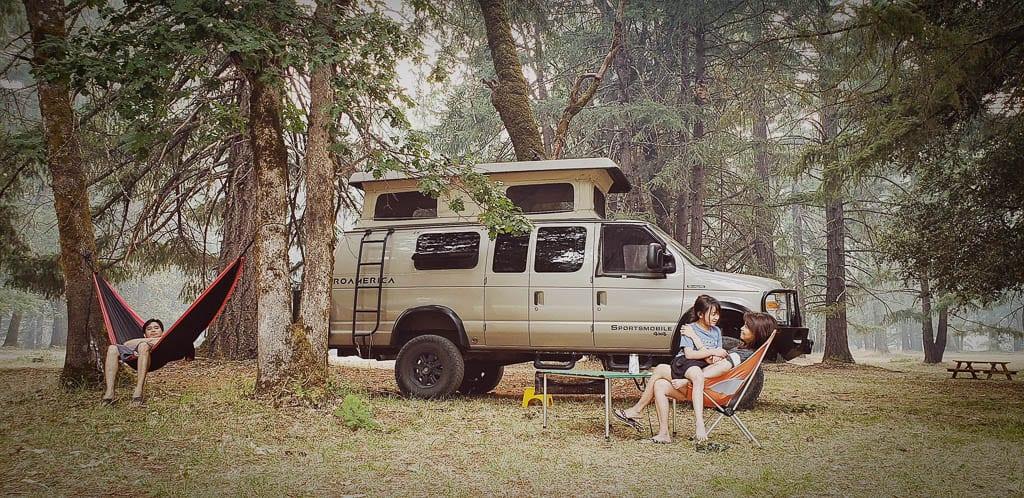 Get away adventure van for the family
