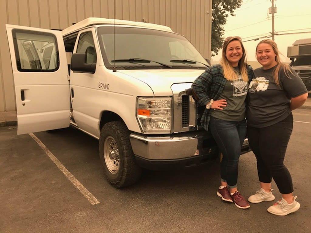 Bring a friend with your next camper van rental