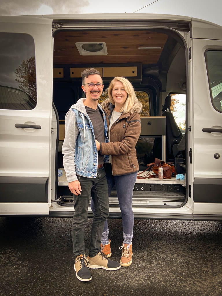 Fresh new beginnings with Axis Ford Transit camper van conversion