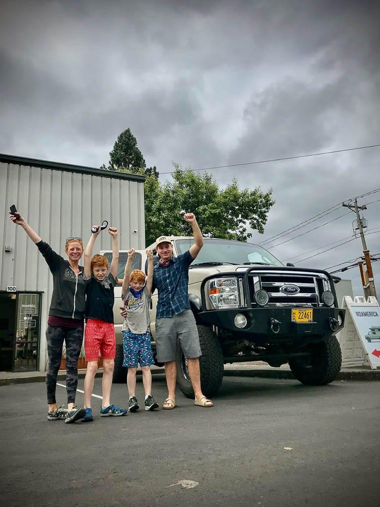 Yahoo for camper van rental conversion!