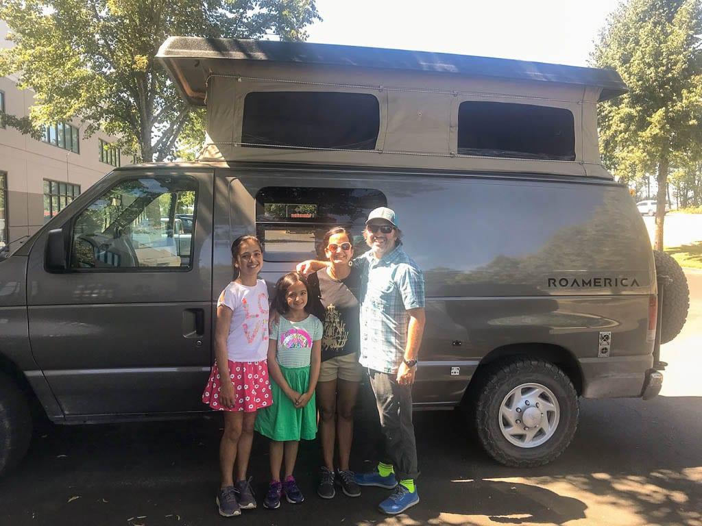 Adventure van starts today.