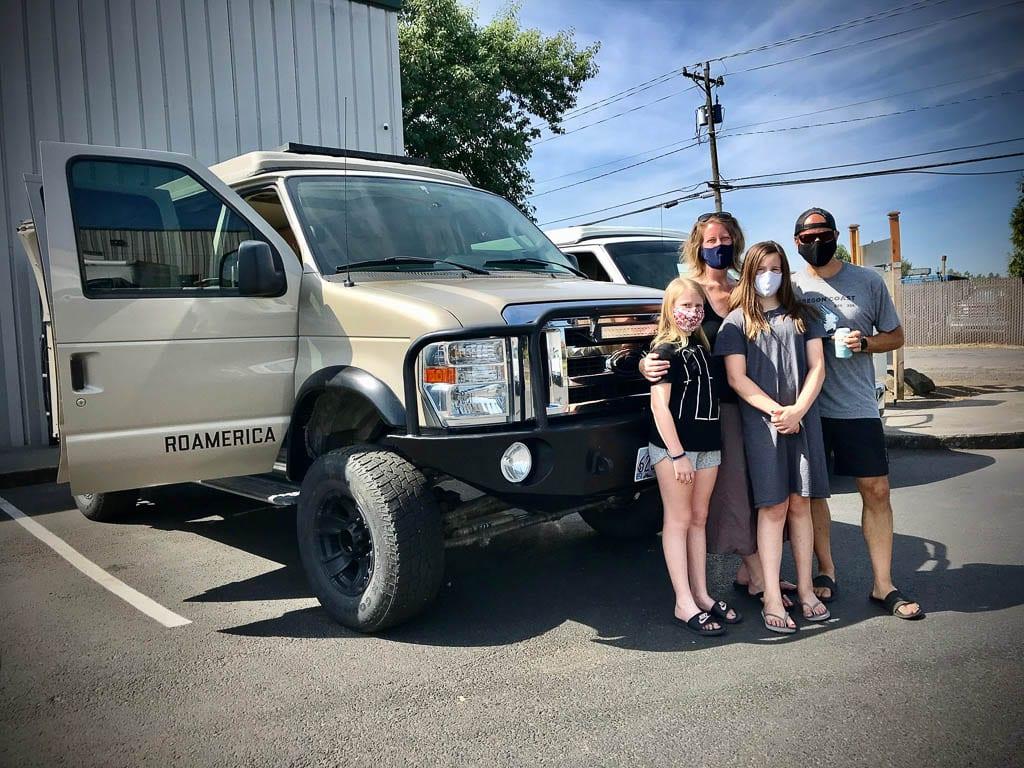 Van rentals that have no complaints!
