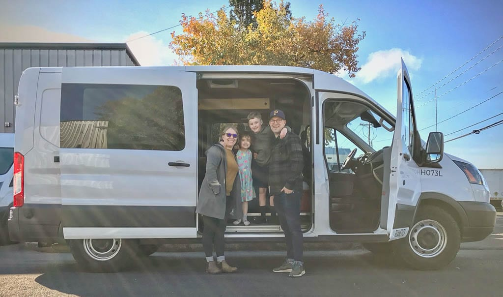 Ford Transit camper van are for all sizes!