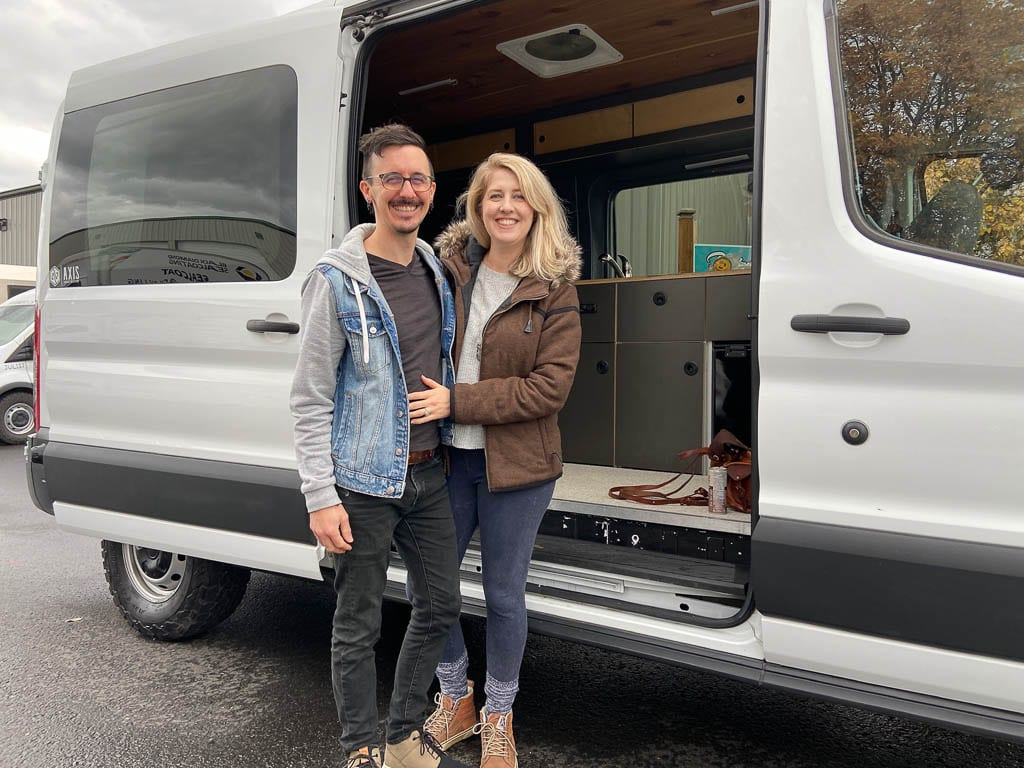 Ready to hit the road with Ford Transit camper van conversion