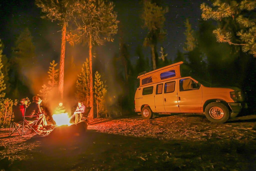 Adventure van ford camper van vibes