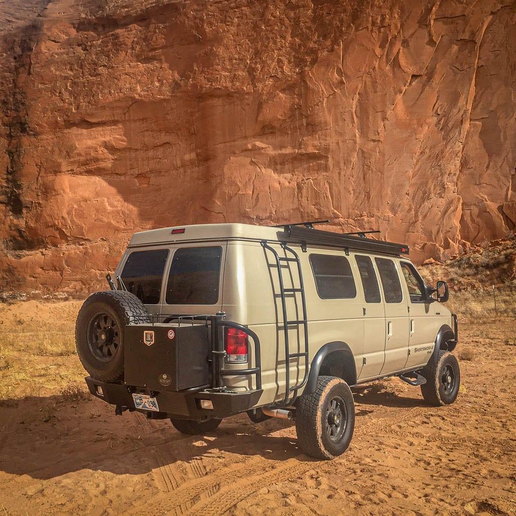 Van rental adventure in MOAB