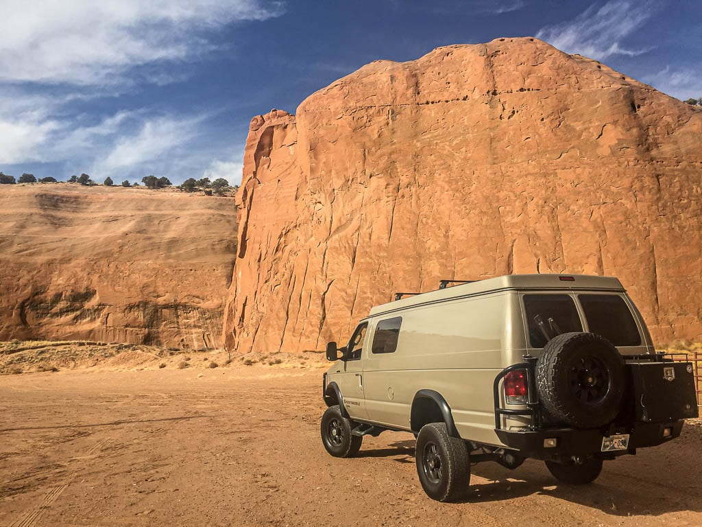 Epic Ford Adventure van basecamp