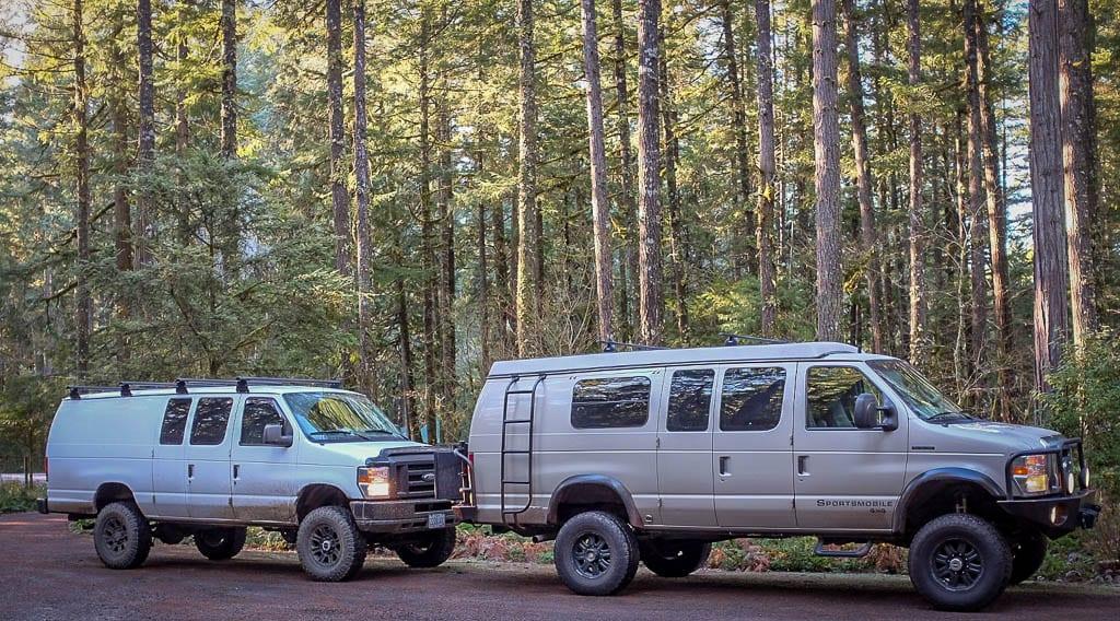 4x4 Adventure camper vans for all!