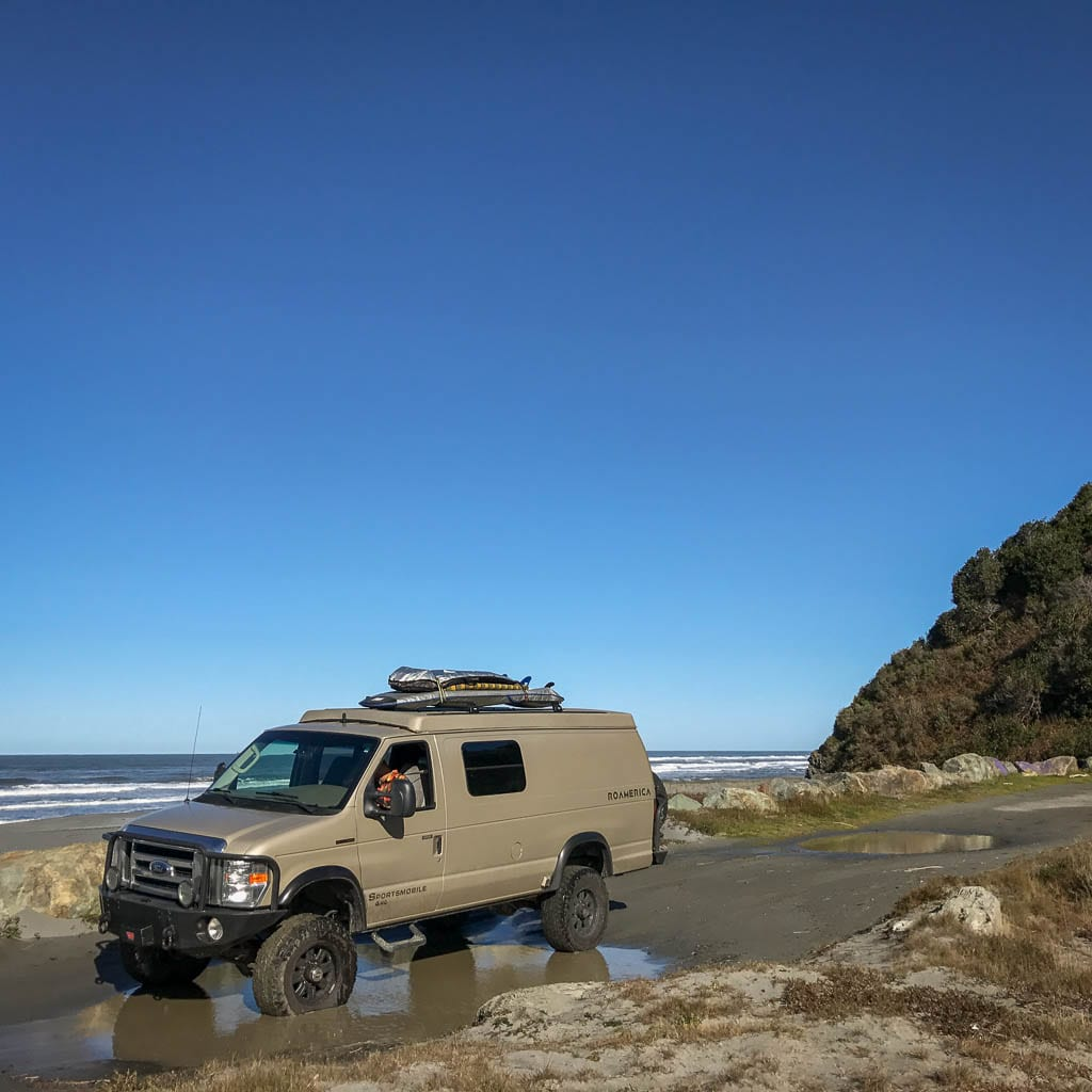 4x4 Camper van coastal bound!