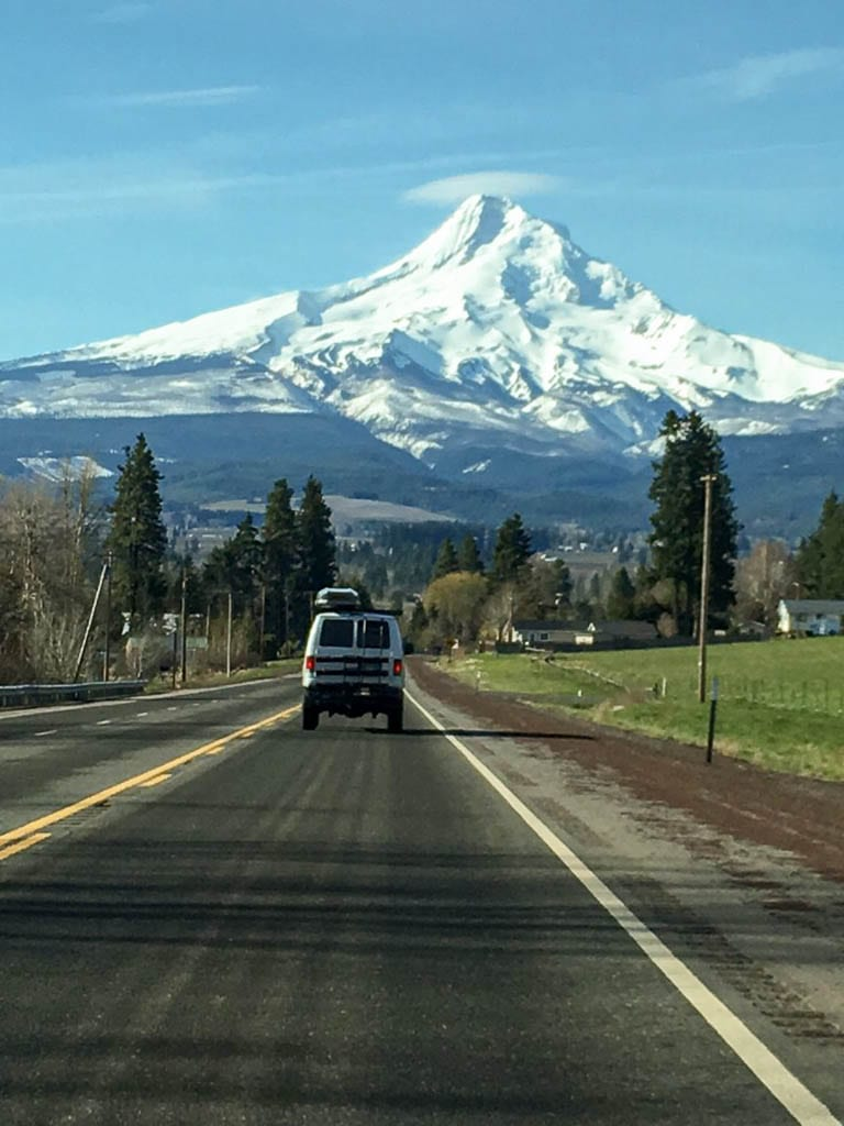 Off to Mt. Hood to explore new camping spots!