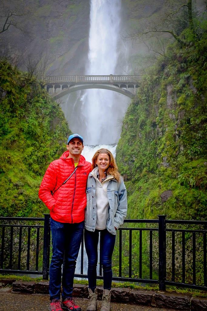 Welcome to Multnomah Falls - Camper van adventure