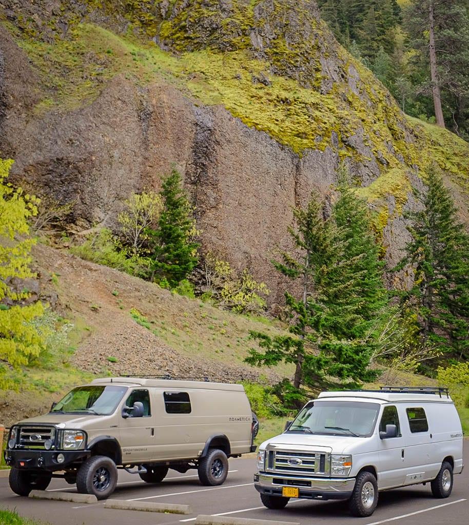 Double the fun with a Adventure van camper van rental!