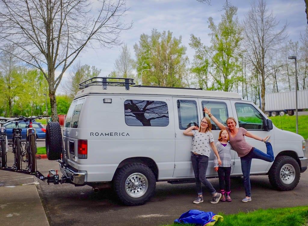 Adventure van rental starting off on the right foot