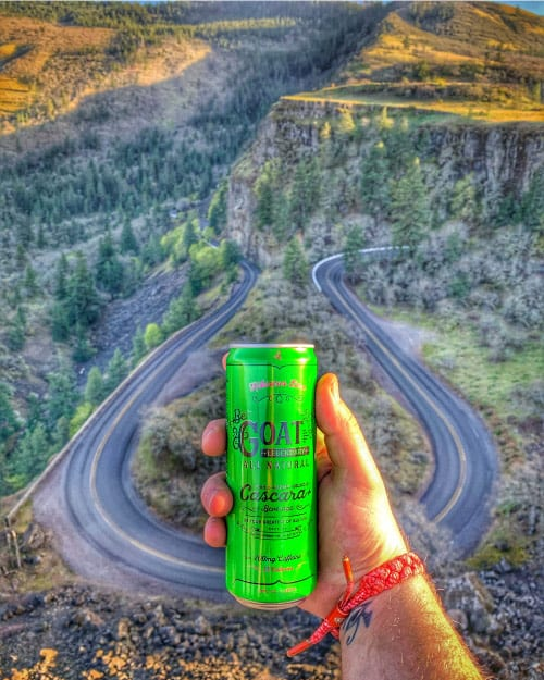 A sparkling clean source of high caffeine beverage with your campervan rental