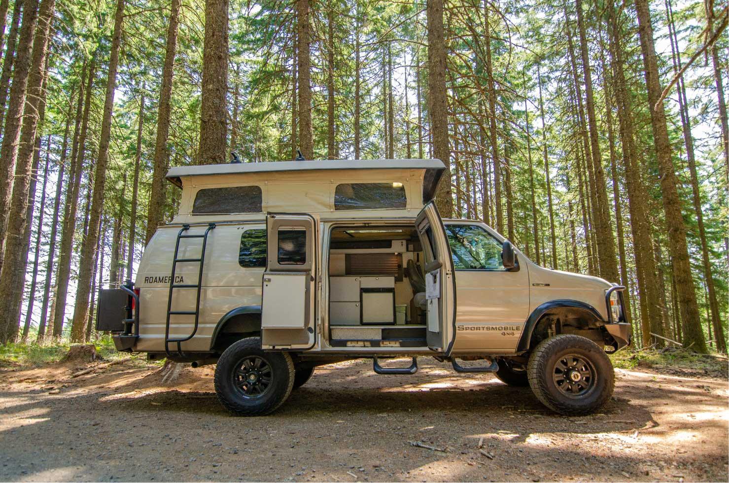 Ford E-Series 4x4 Econoline Sportsmobile EB50 Layout Campervan conversion for sale