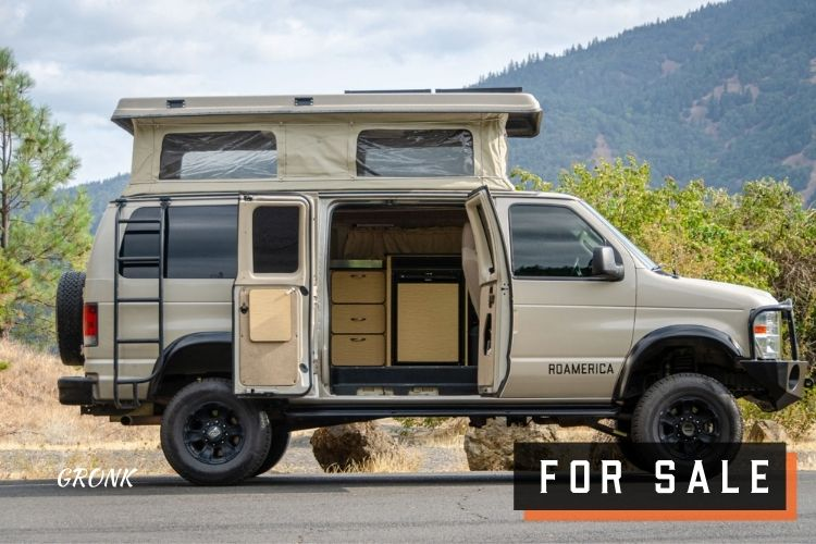 Ford E-Series 4x4 Econoline Sportsmobile RB50 Layout Campervan conversion for sale